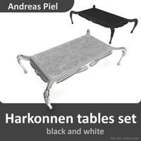 c4d set harkonnen table black