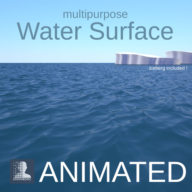 3ds max alembic water surface ocean