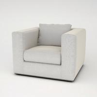 eichholtz armchair atlanta 3d max