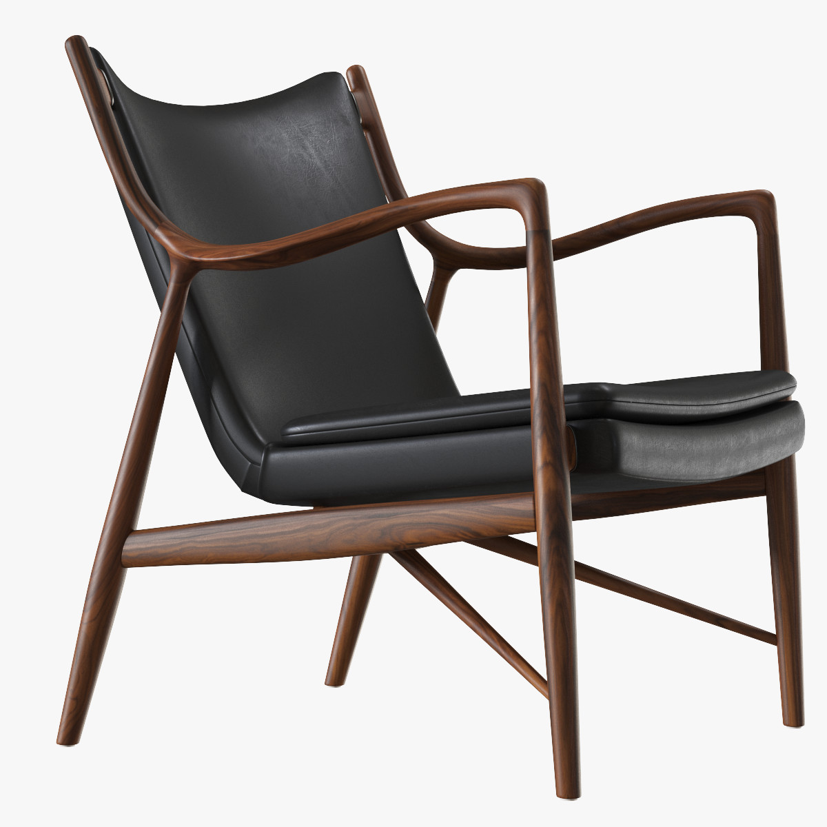 3d finn juhl 45 chair