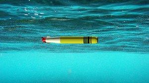 3d model 46 torpedo lightweight