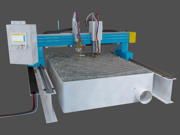 3d cutter machine plasma