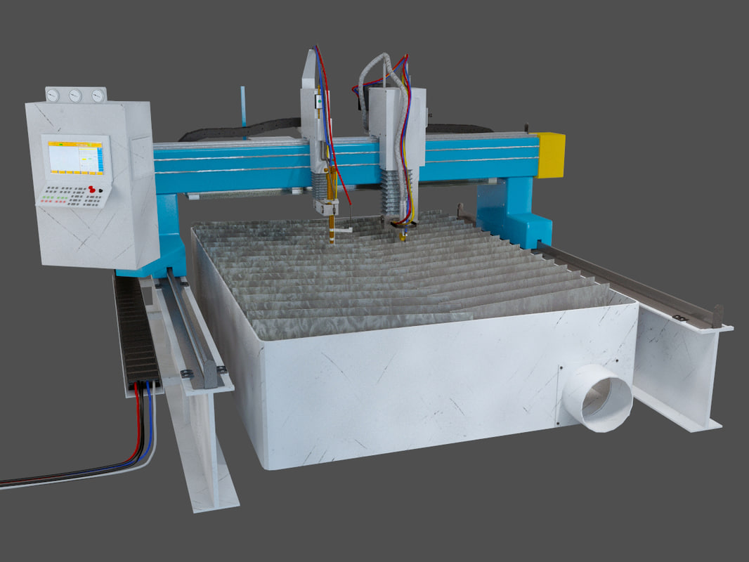 3d cutter machine plasma