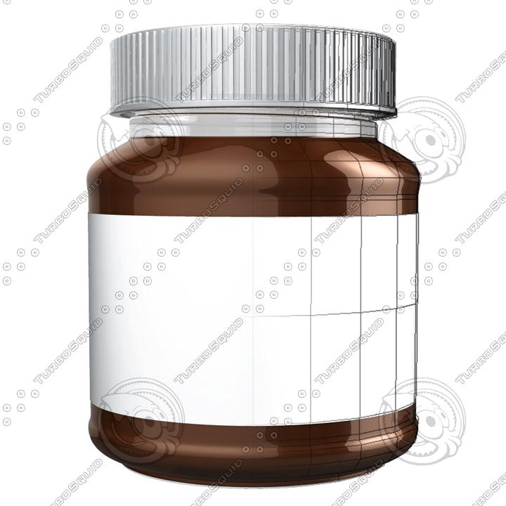 obj jar chocolate choco