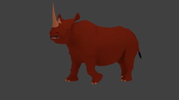 maya rhino