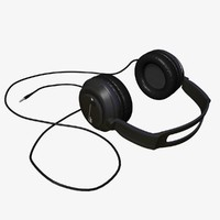 headphones head phones 3d 3ds