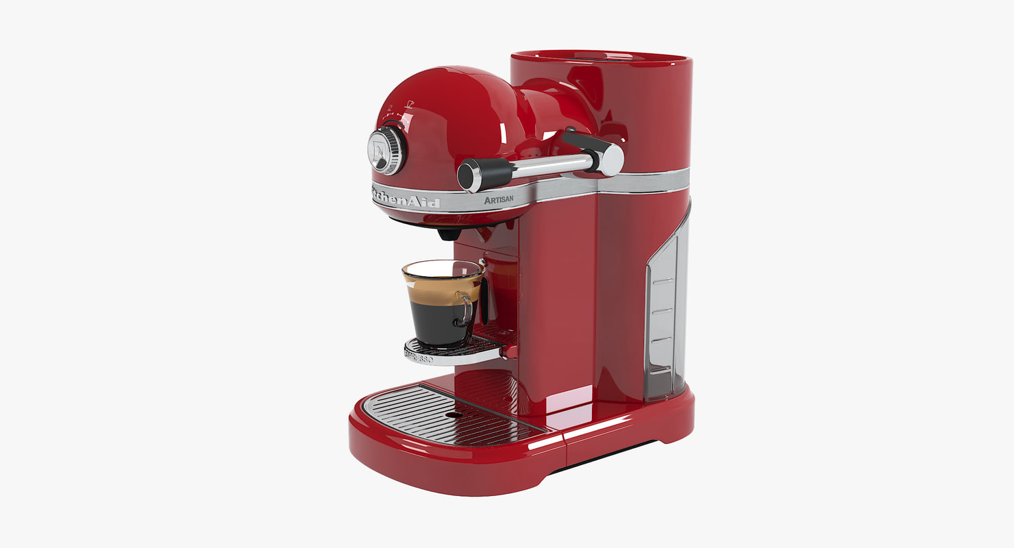 Swell Kitchenaid Red Coffee Machine Home Remodeling Inspirations Gresiscottssportslandcom
