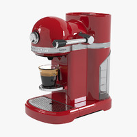 KitchenAid Red Coffee Machine
