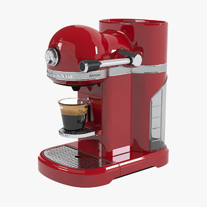 red coffee machine max