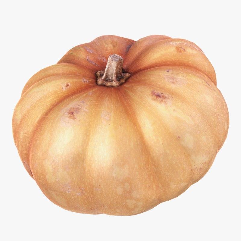 3ds max pumpkin scan