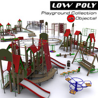 Playground objects Collection