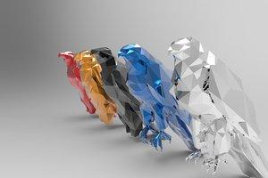 3d sculptures art deco
