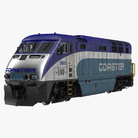 Diesel Electric Locomotive F59 PHI Coaster