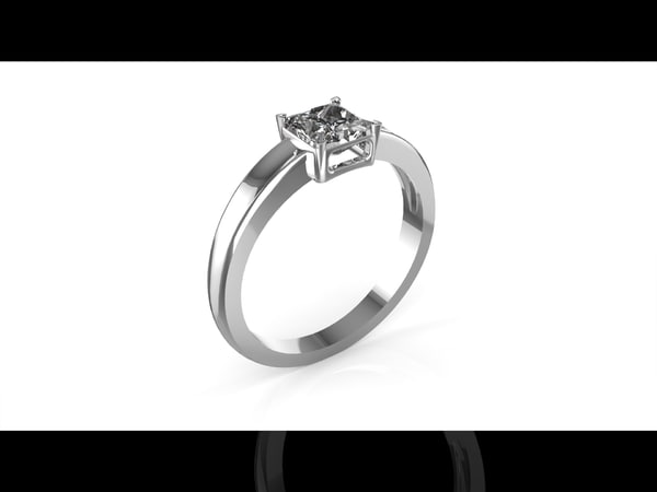 3d ring production model