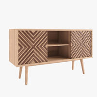 sideboard wewood casanova 3d model