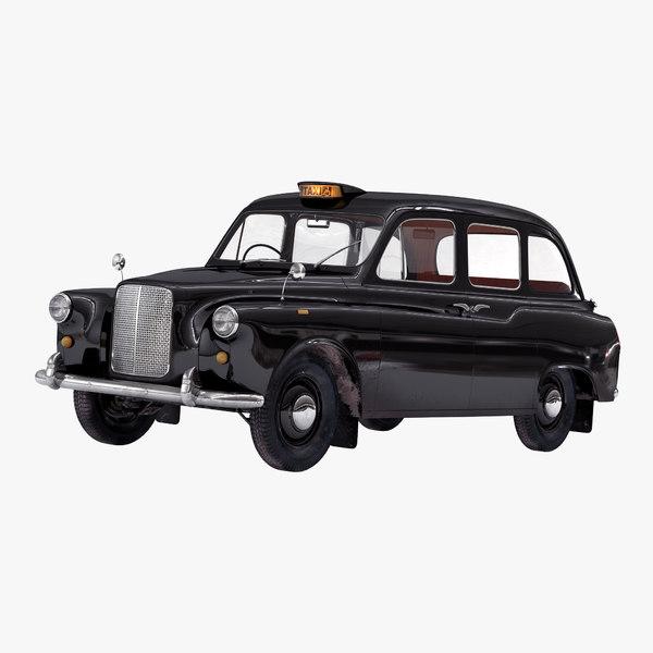 london cab fx4 3d max