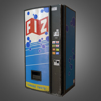 3d soda vending machine -
