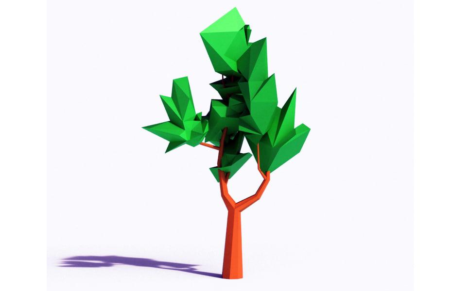 3ds beautiful tree