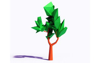 3ds beautiful tree