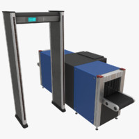 Metal Detector and X-Ray Scanner