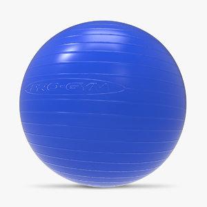 3ds anti-burst gym ball