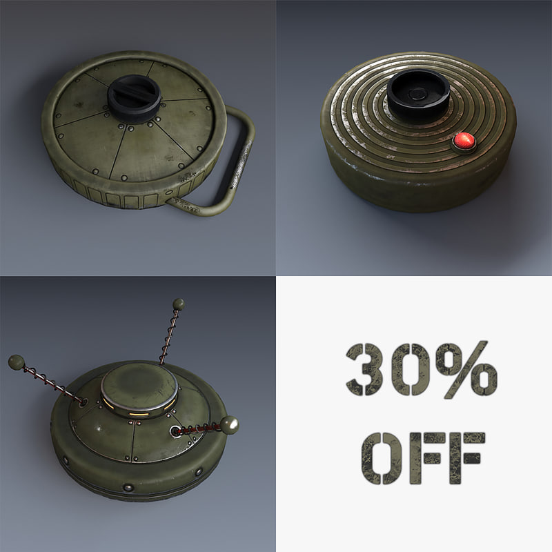 3d model of mines