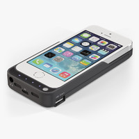 3d model of apple iphone 5s case