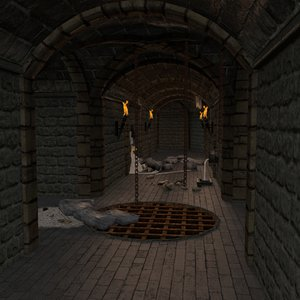 pack dungeon 3d model