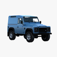 Land Rover Defender 90 Van