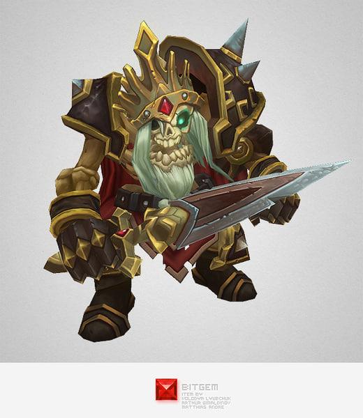 monster skeleton king ma