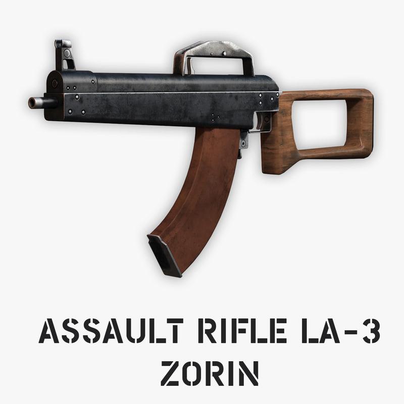 7 assault rifle zorin max