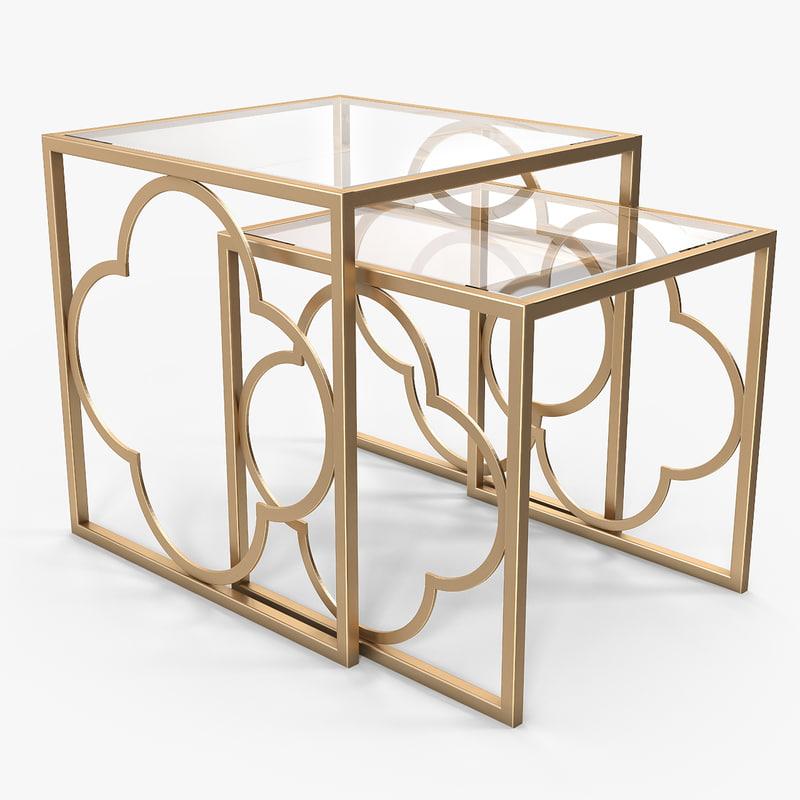 3d ava nest tables