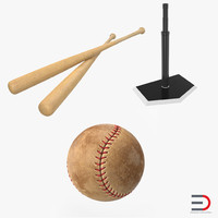 3d baseball batting 2
