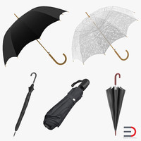 umbrellas 2 3d model