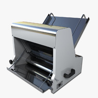 commercial bread slicer 3d max