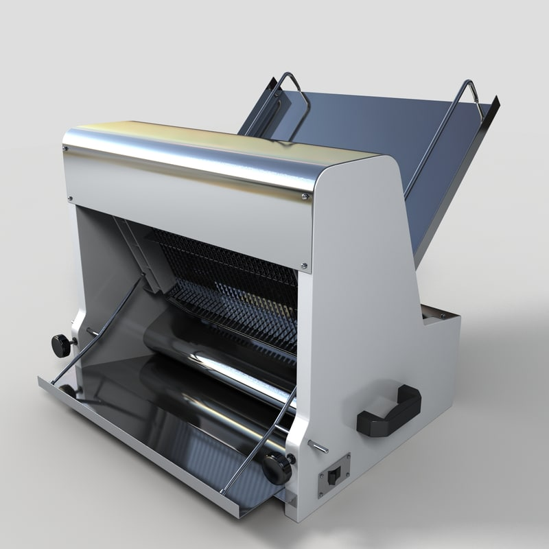 commercial bread slicer 3d max