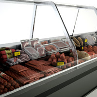 Supermarkets Deli Meat Display