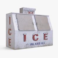 3d ice merchandiser