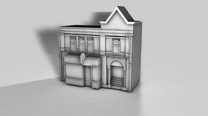 c4d house buiding store