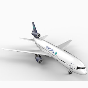 3d dc-10 electra airlines