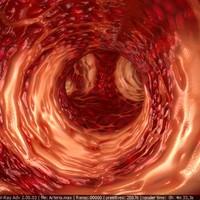 3d human arteria