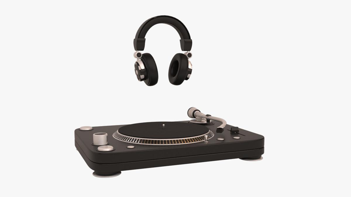 turntable headphone max