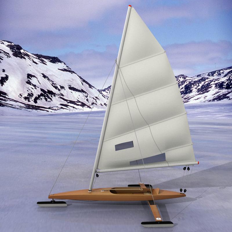 3d ice boat