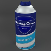 3dsmax shaving cream