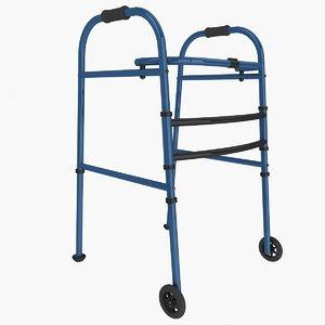 3d wheeled walker