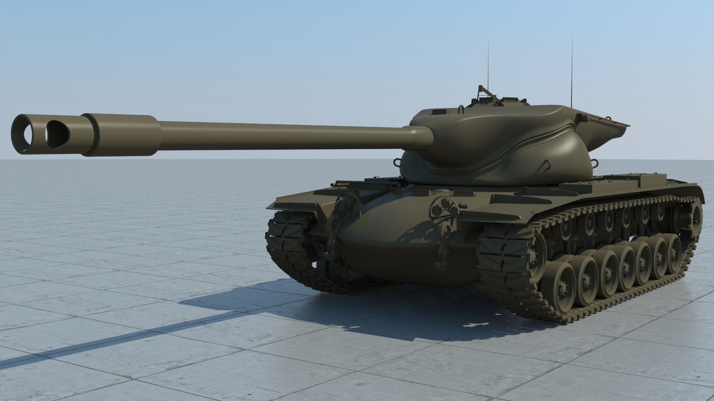 t57heavy usa tank gun max