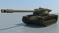 USA T57 heavy tank