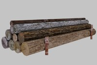timber 3d model