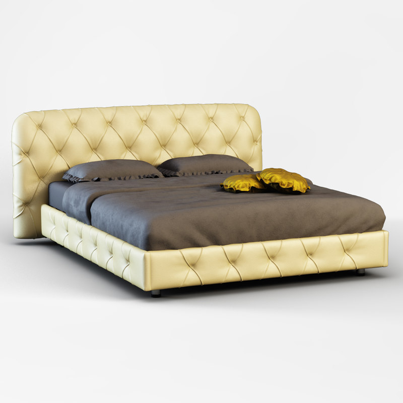 flair luxe bed 3d model