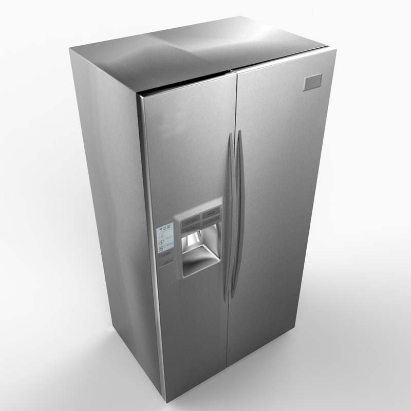 refrigerator appliance 3d 3ds